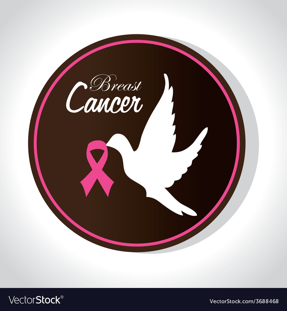 Cancer design over white background vector | Price: 1 Credit (USD $1)