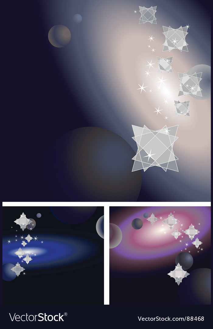Crystal space vector | Price: 1 Credit (USD $1)