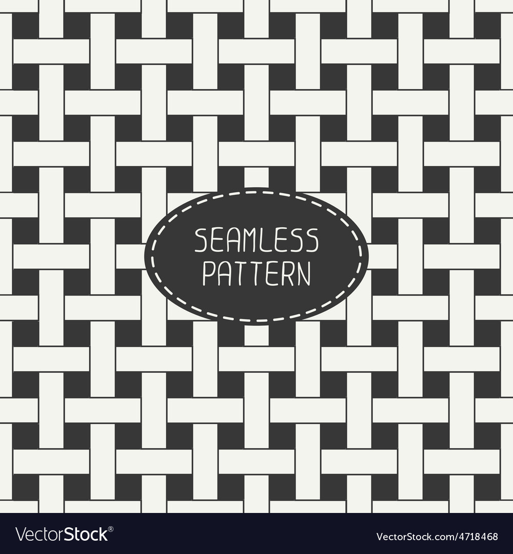 Geometric seamless pattern with intertwined bands vector   Price: 1 Credit (USD $1)