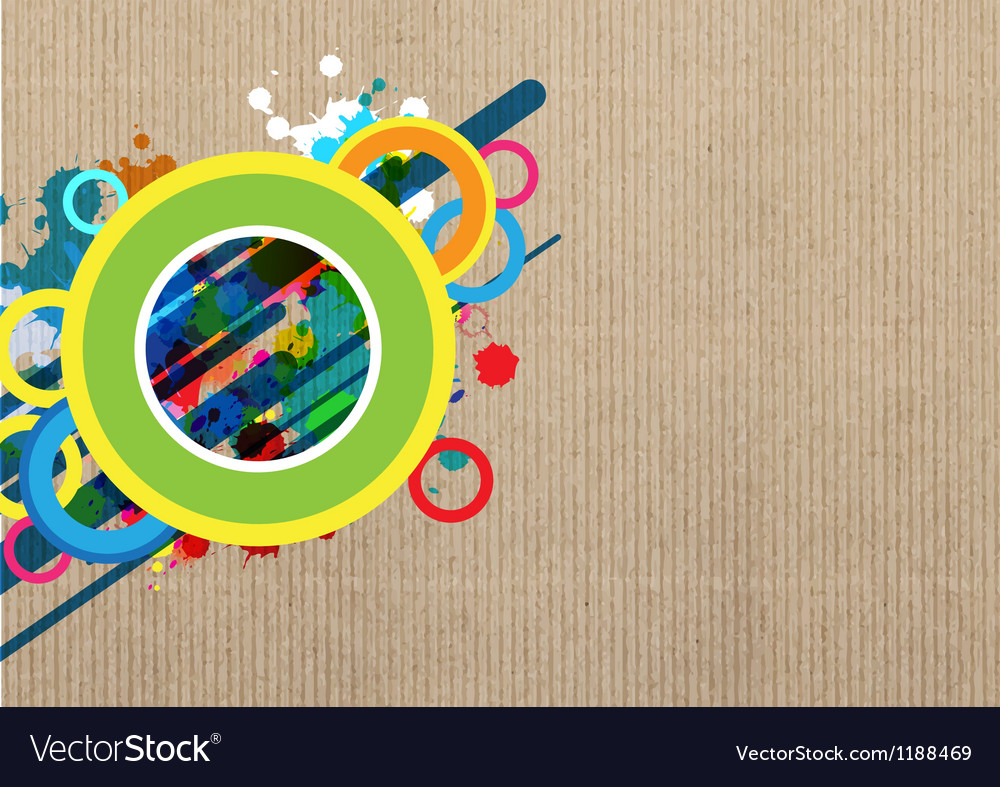 Art banner layout design vector | Price: 1 Credit (USD $1)