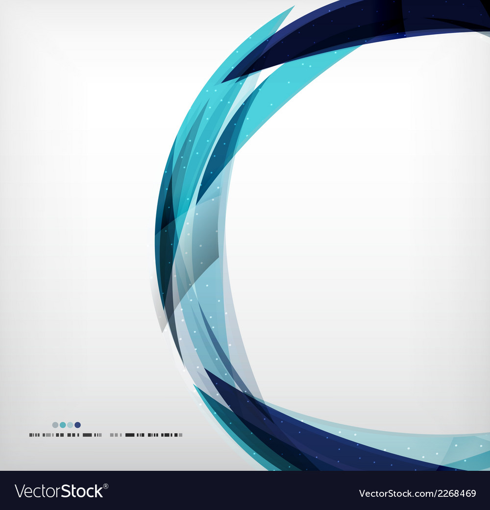 Blue ring - business abstract bubble vector | Price: 1 Credit (USD $1)