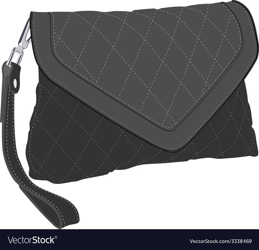 Clutch bag vector | Price: 1 Credit (USD $1)