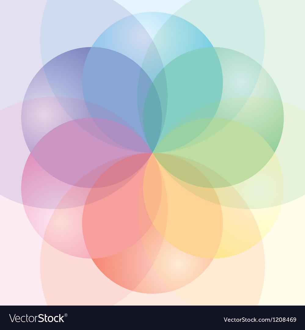 Cmyk palette vector