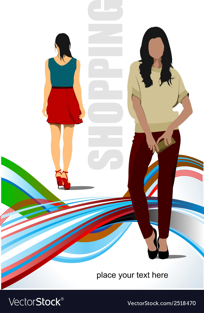 Al 0315 shopping vector | Price: 1 Credit (USD $1)
