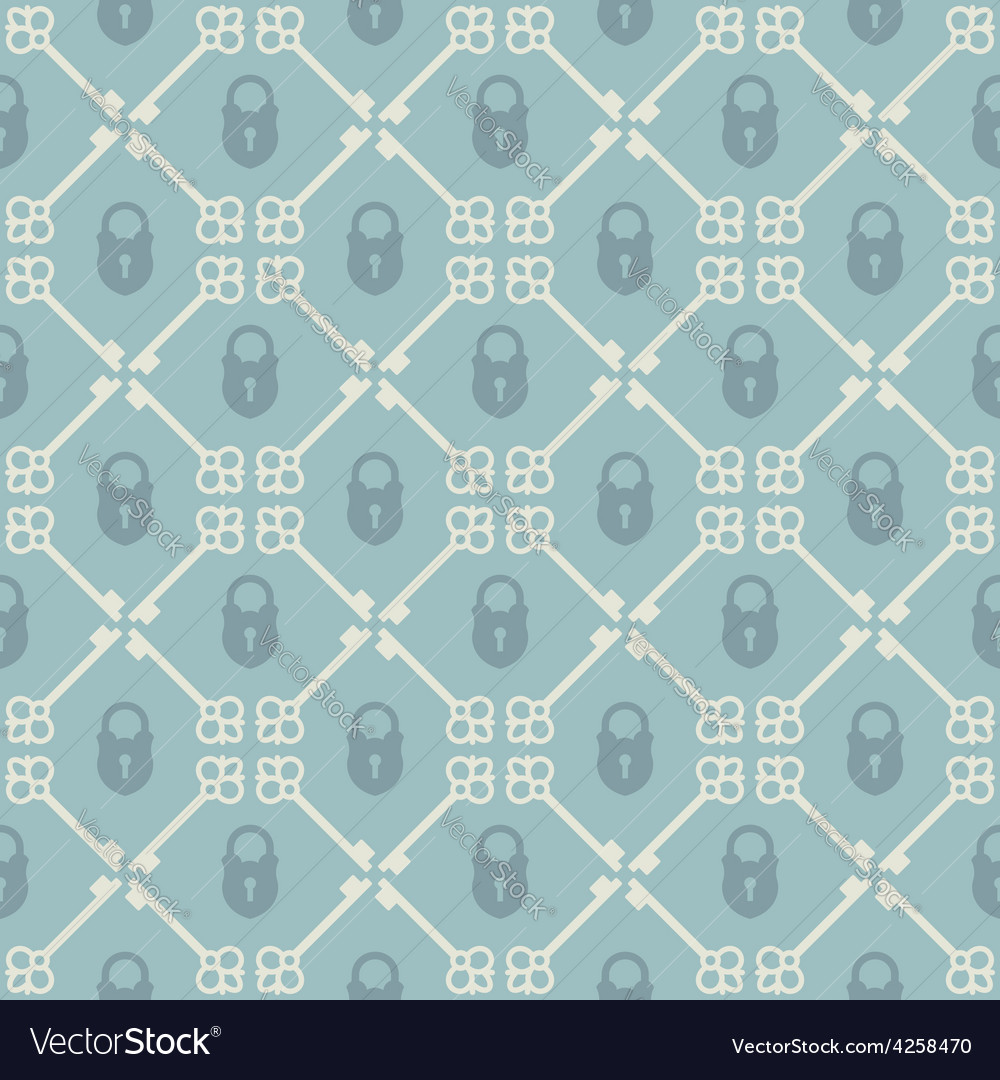 Keys seamless pattern vector | Price: 1 Credit (USD $1)