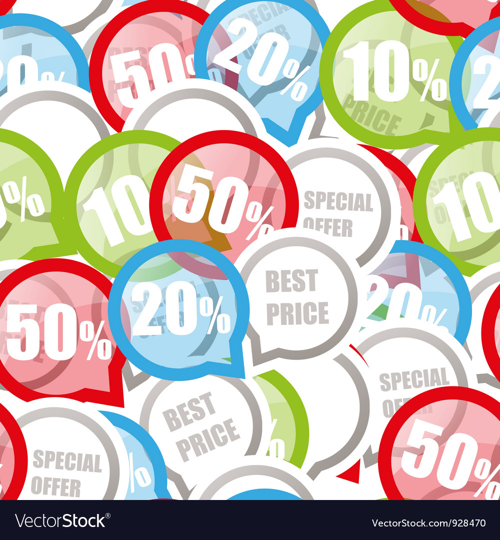 Price discount background vector | Price: 1 Credit (USD $1)