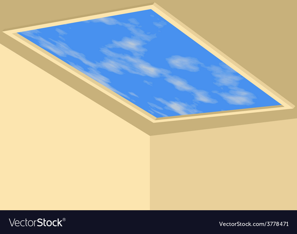Ceiling sky vector | Price: 1 Credit (USD $1)