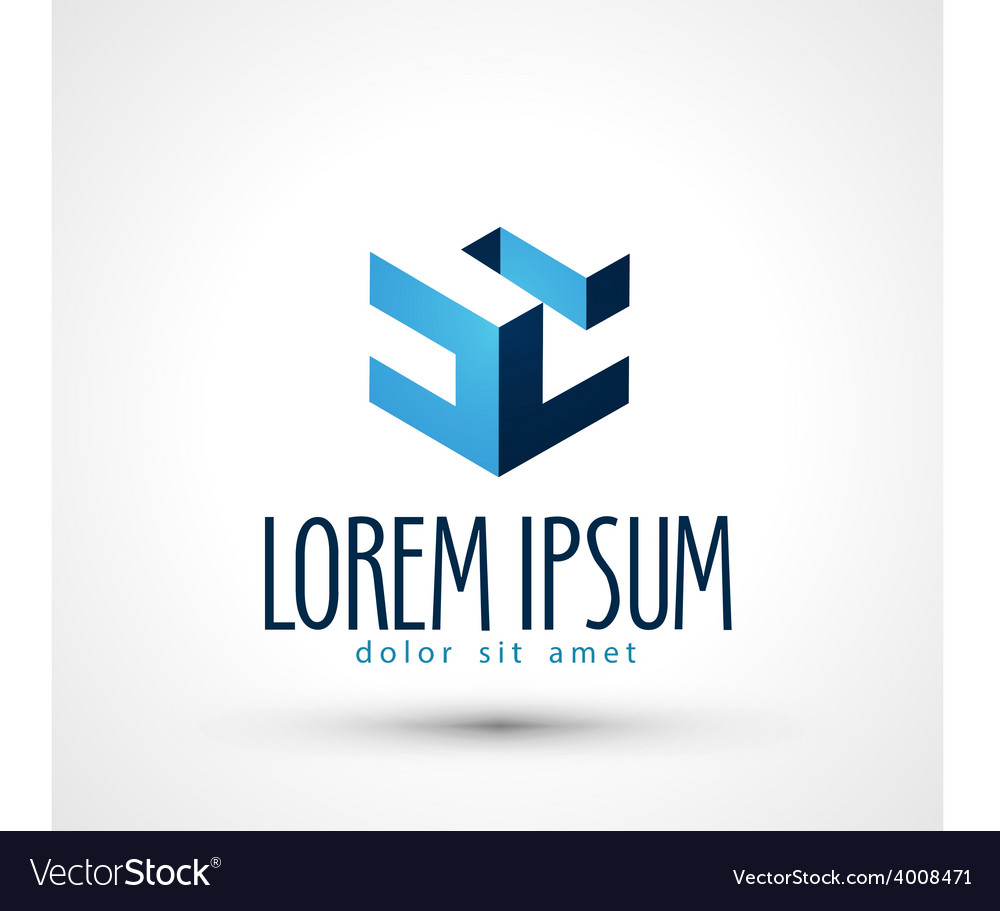 Engineering logo design template busines vector | Price: 1 Credit (USD $1)