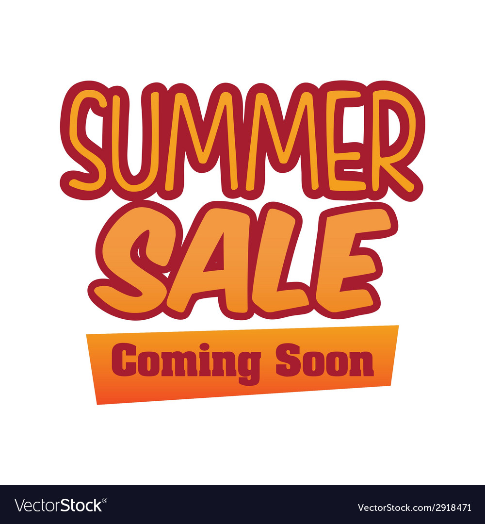 Summer sale design vector | Price: 1 Credit (USD $1)