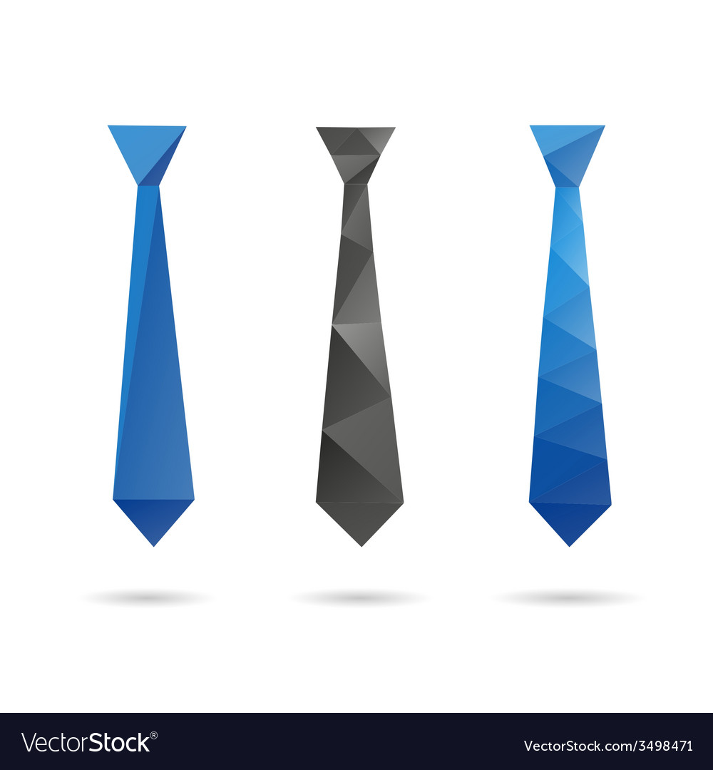 Tie abstract isolated vector | Price: 1 Credit (USD $1)