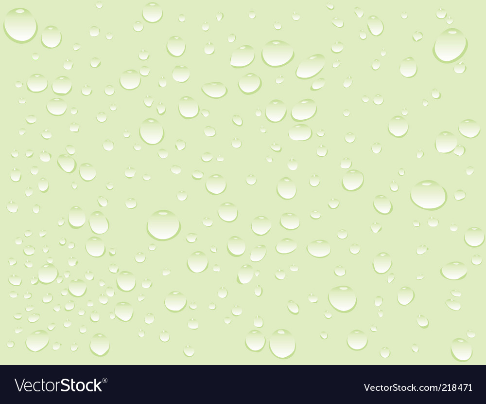 Water drops pattern vector | Price: 1 Credit (USD $1)