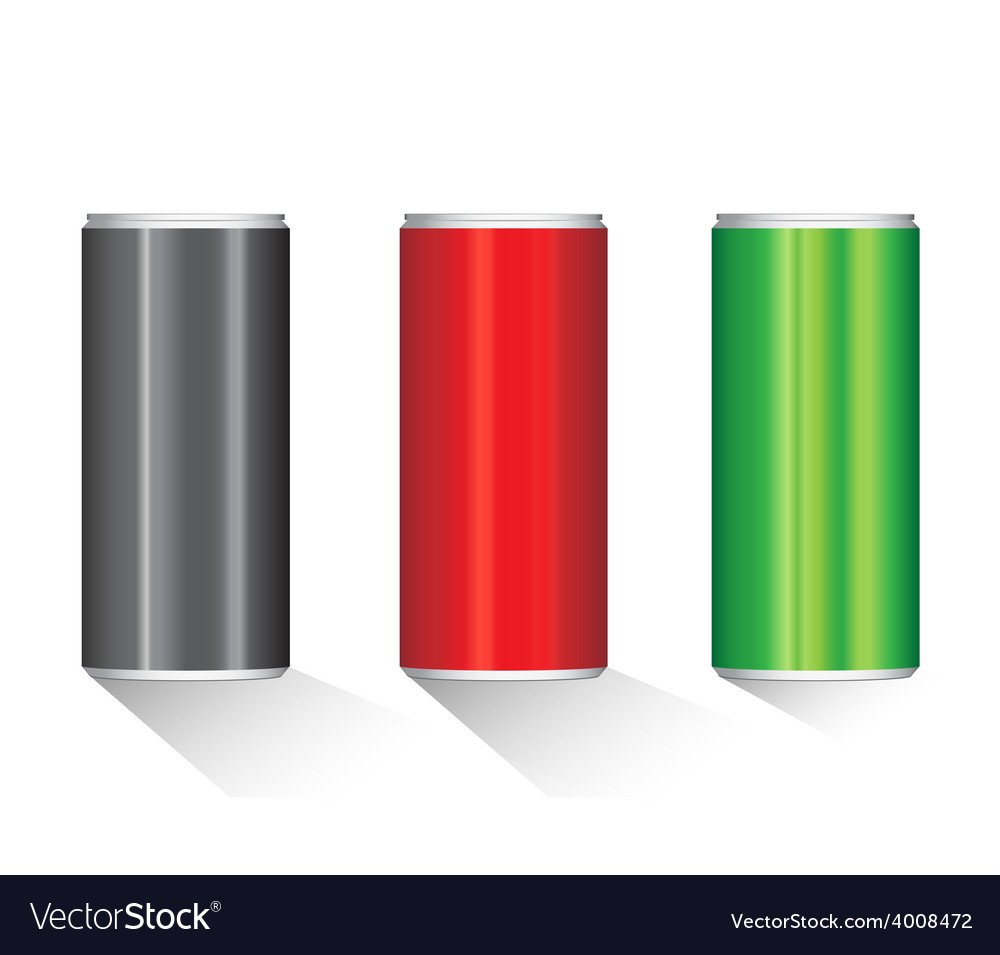 Create aluminium cans vector | Price: 1 Credit (USD $1)