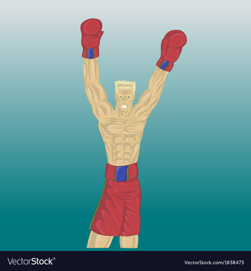 Boxing vector | Price: 1 Credit (USD $1)