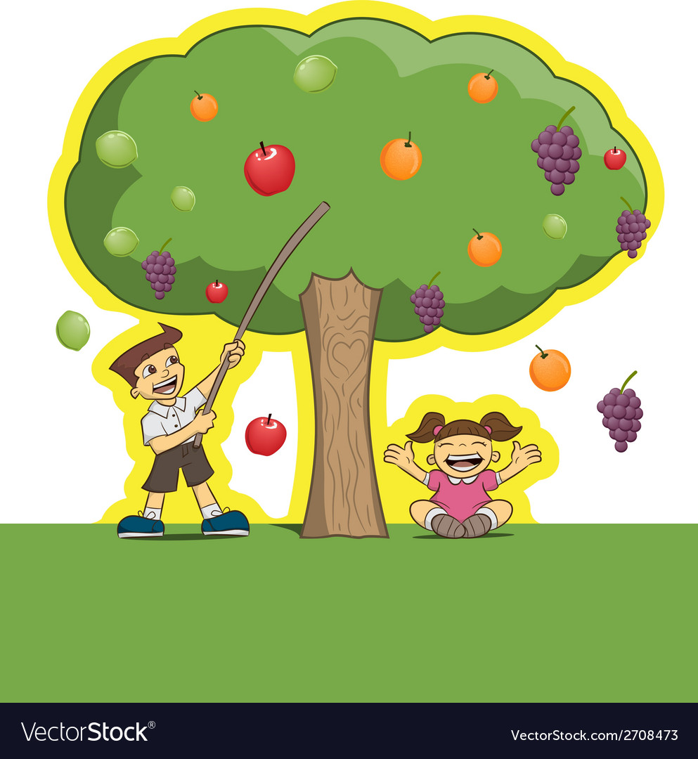 Magic tree characters vector | Price: 1 Credit (USD $1)