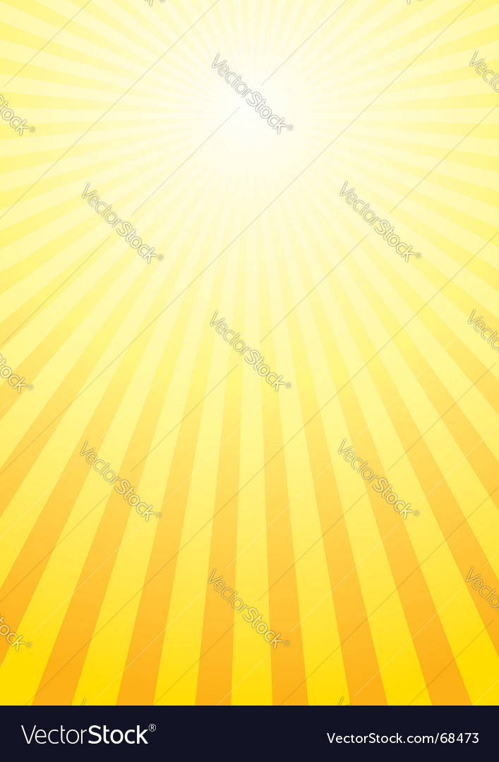 Shining sun background vector | Price: 1 Credit (USD $1)