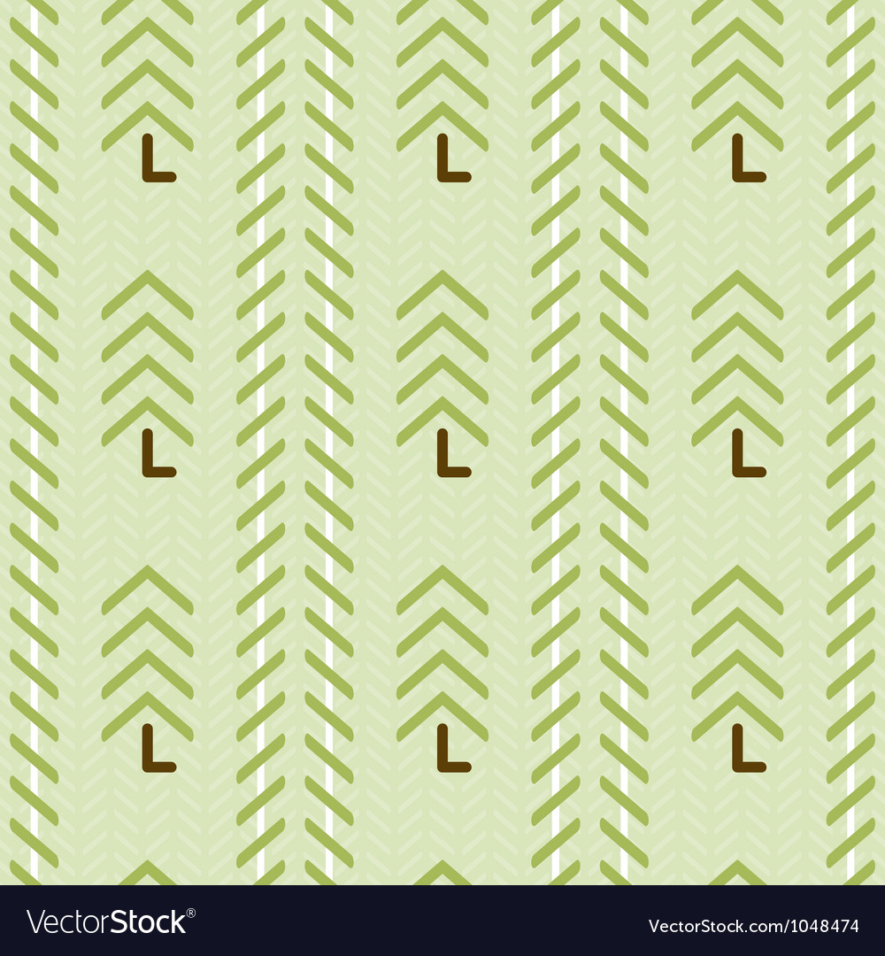 Abstract christmas trees seamless pattern optical vector | Price: 1 Credit (USD $1)