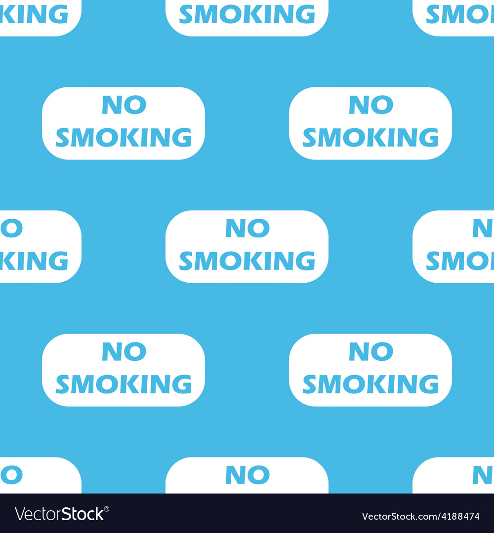 No smoking seamless pattern vector | Price: 1 Credit (USD $1)