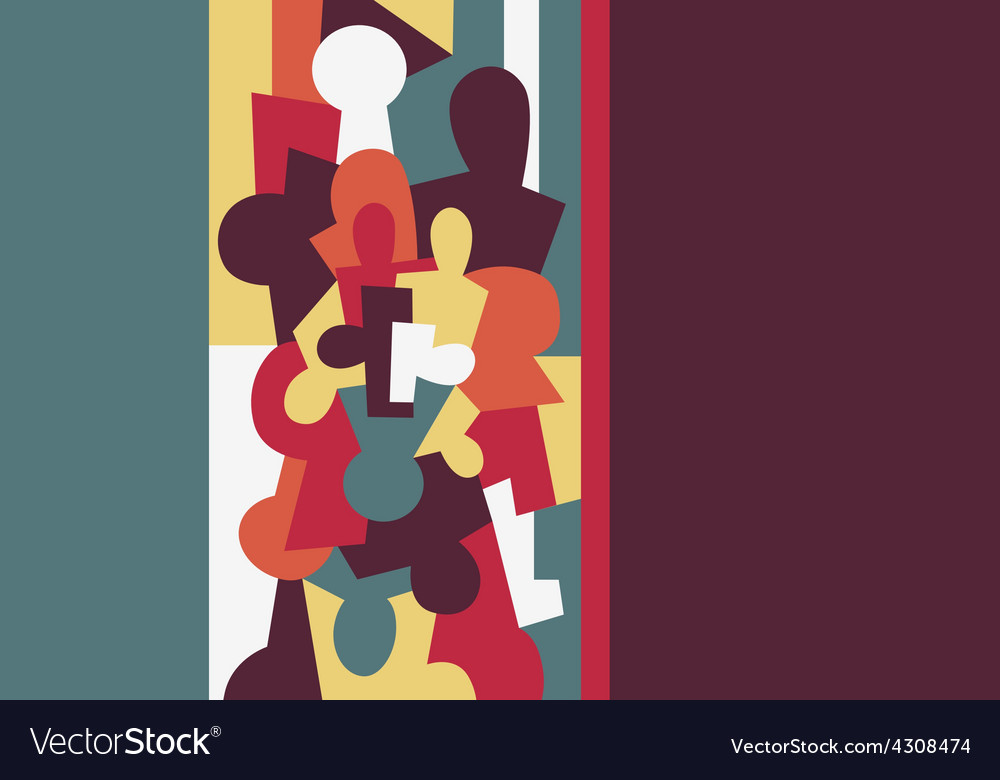 People psychology vector | Price: 1 Credit (USD $1)
