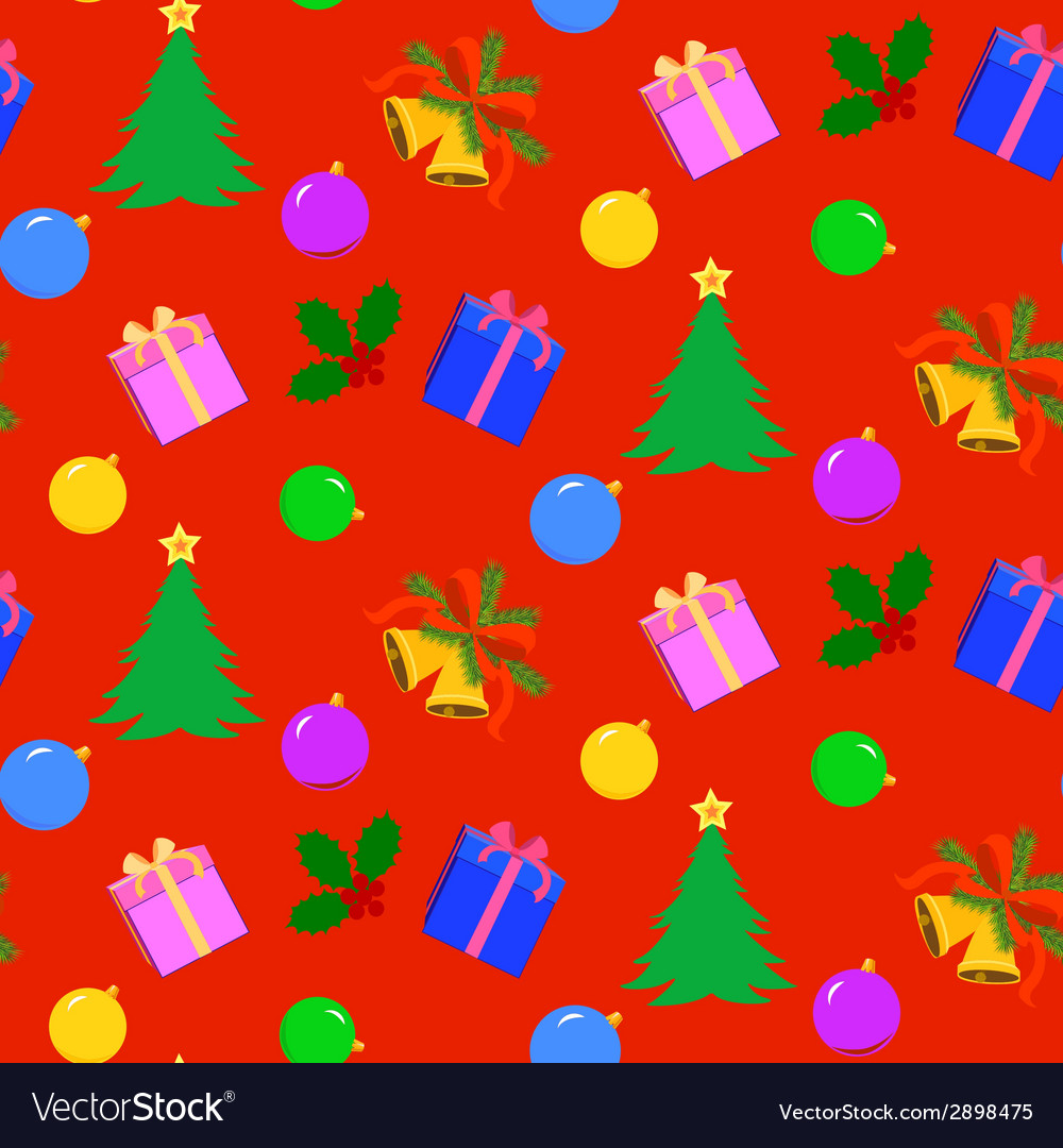 Chistmas pattern vector | Price: 1 Credit (USD $1)