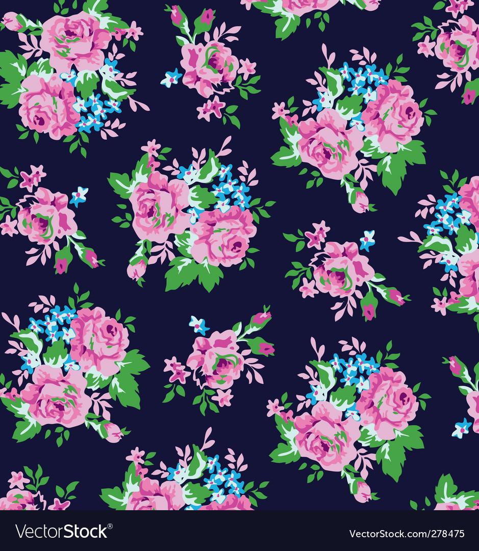Classical roses vector