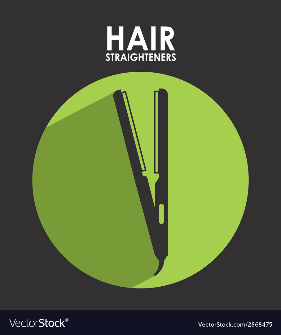 Hair straightener vector | Price: 1 Credit (USD $1)