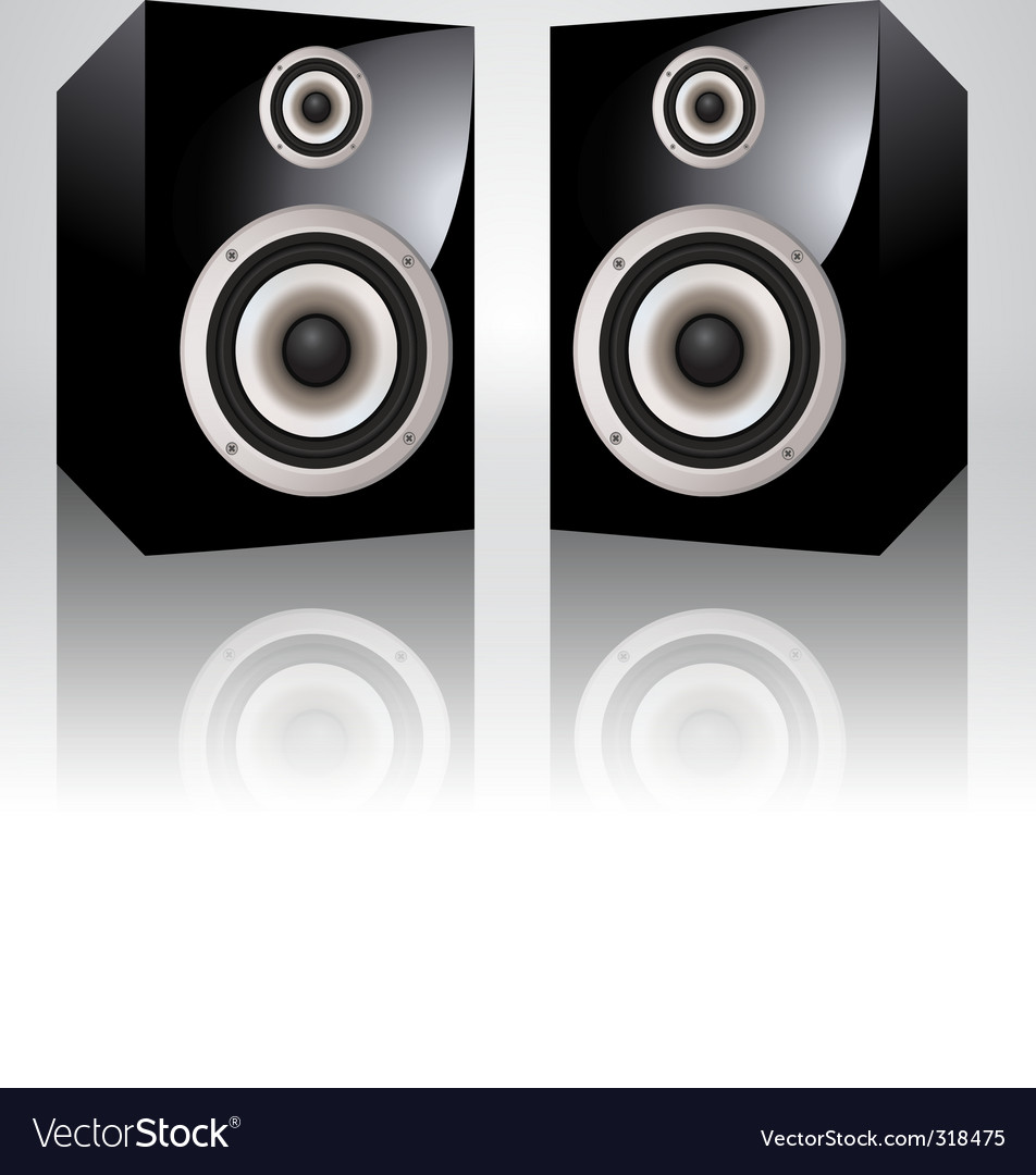 Loudspeakers vector | Price: 3 Credit (USD $3)