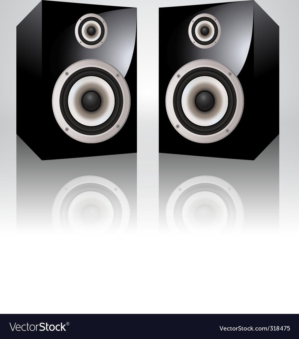 Loudspeakers vector | Price: 3 Credit (USD $3)