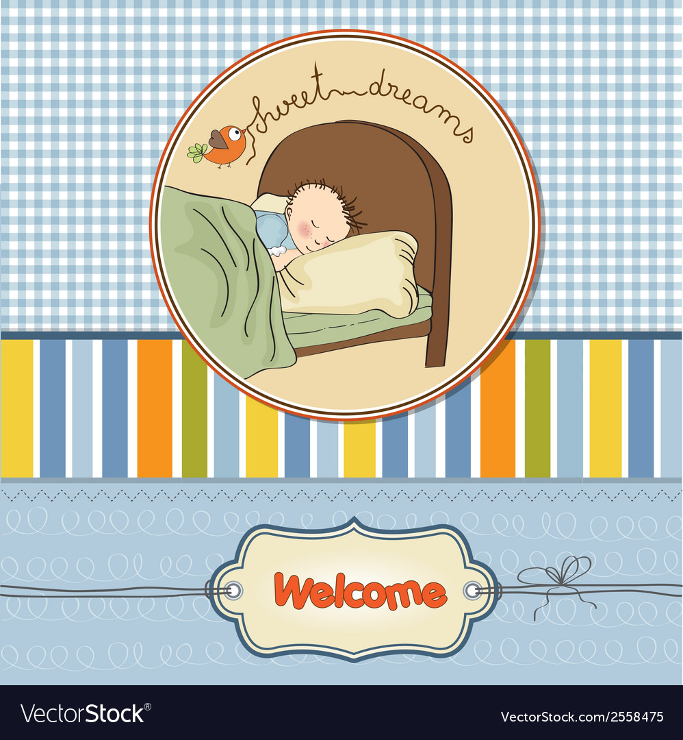 New baby boy arrived vector   Price: 1 Credit (USD $1)
