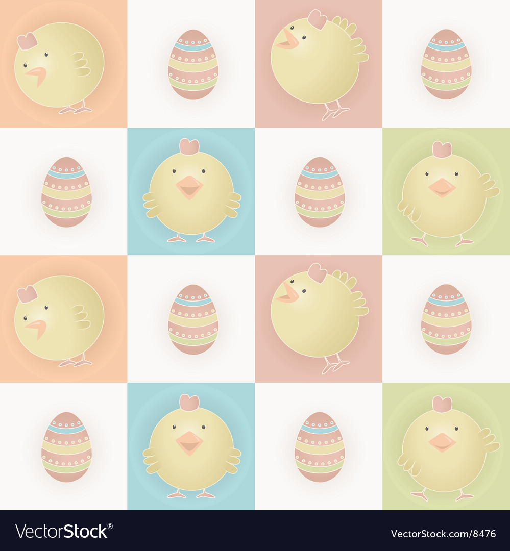 Easter baby chicks vector | Price: 3 Credit (USD $3)