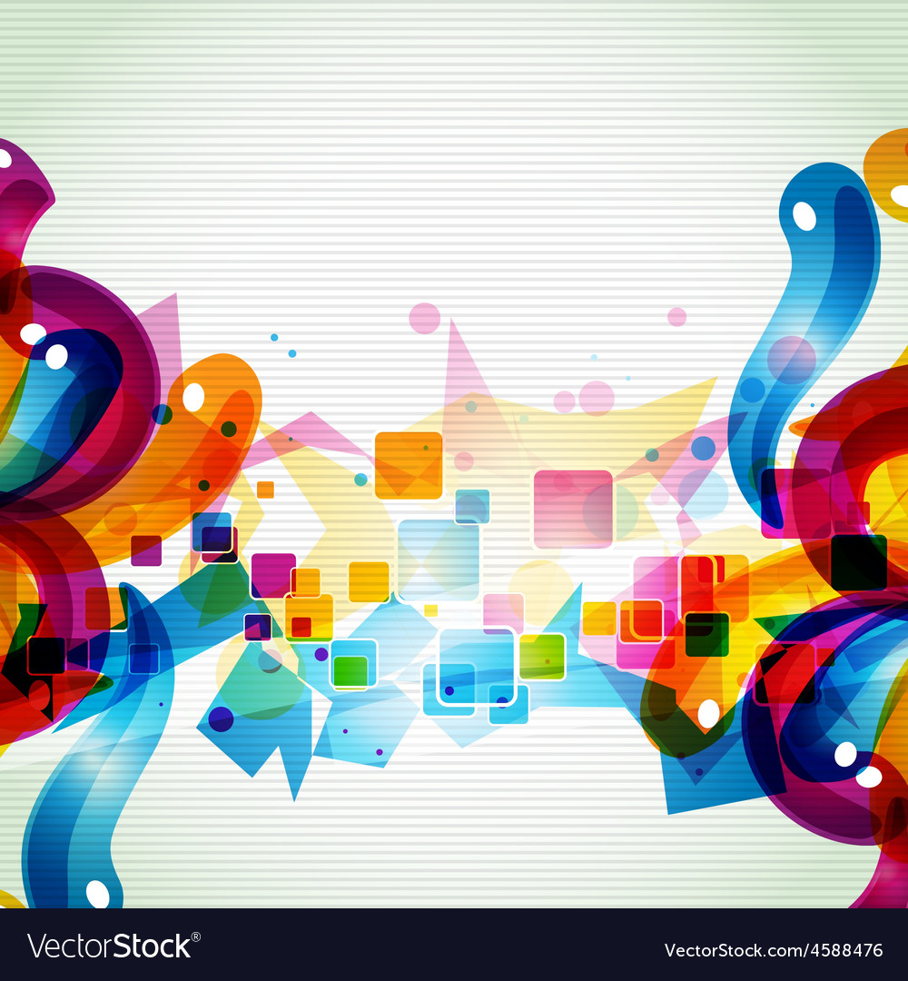 Funky artistic eps10 design vector | Price: 1 Credit (USD $1)