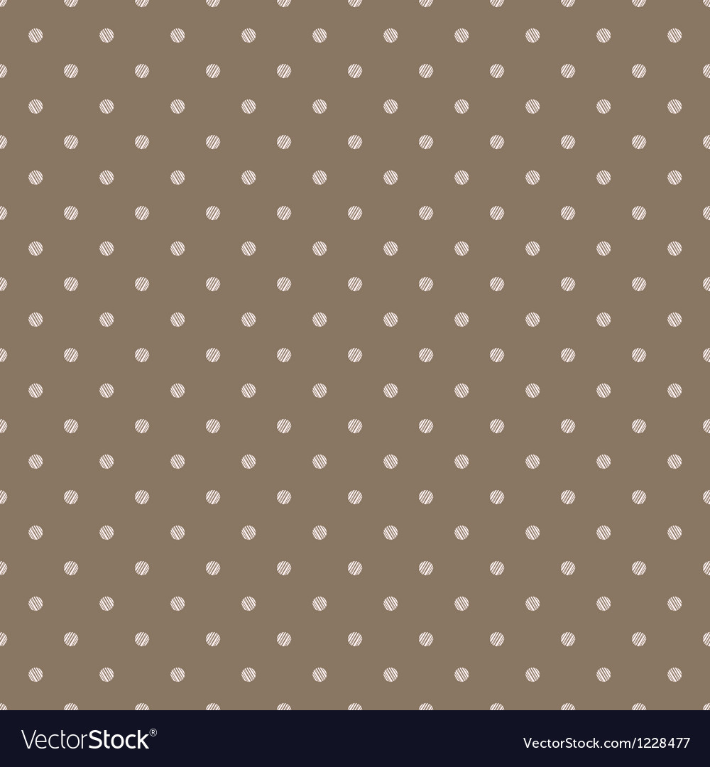 Vintage brown background with grunge polka dots vector | Price: 1 Credit (USD $1)
