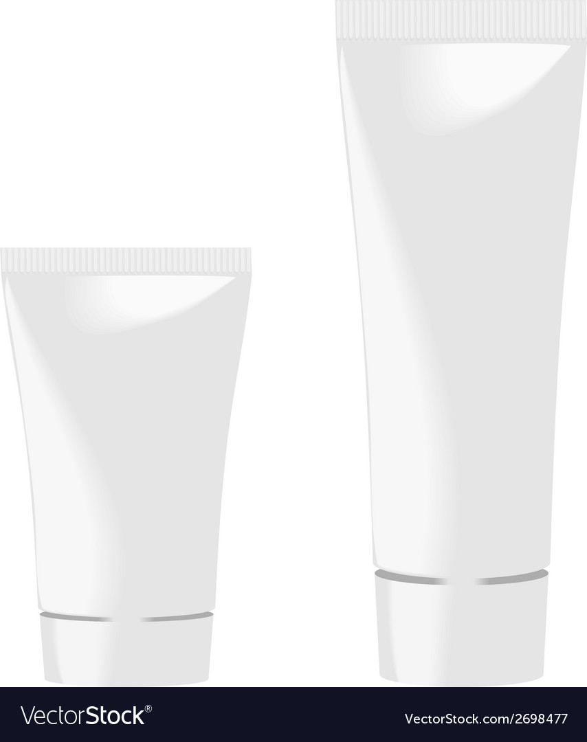 White tubes vector | Price: 1 Credit (USD $1)