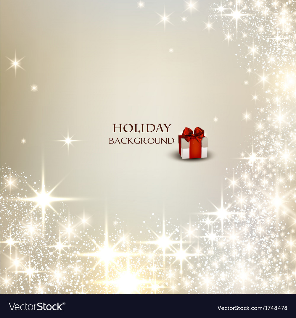 Elegant christmas background with place for text vector | Price: 1 Credit (USD $1)
