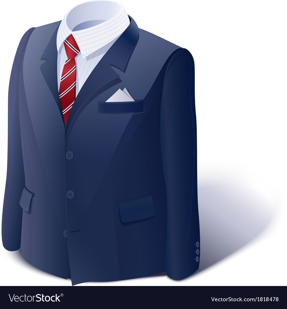 Jacket and shirt business vector | Price: 3 Credit (USD $3)