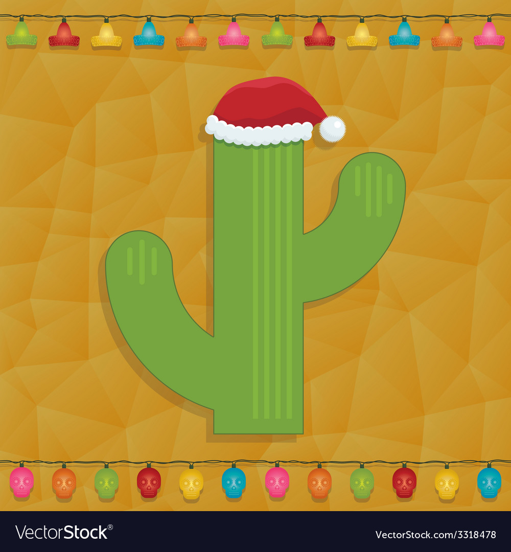 Mexican christmas decoration vector | Price: 1 Credit (USD $1)