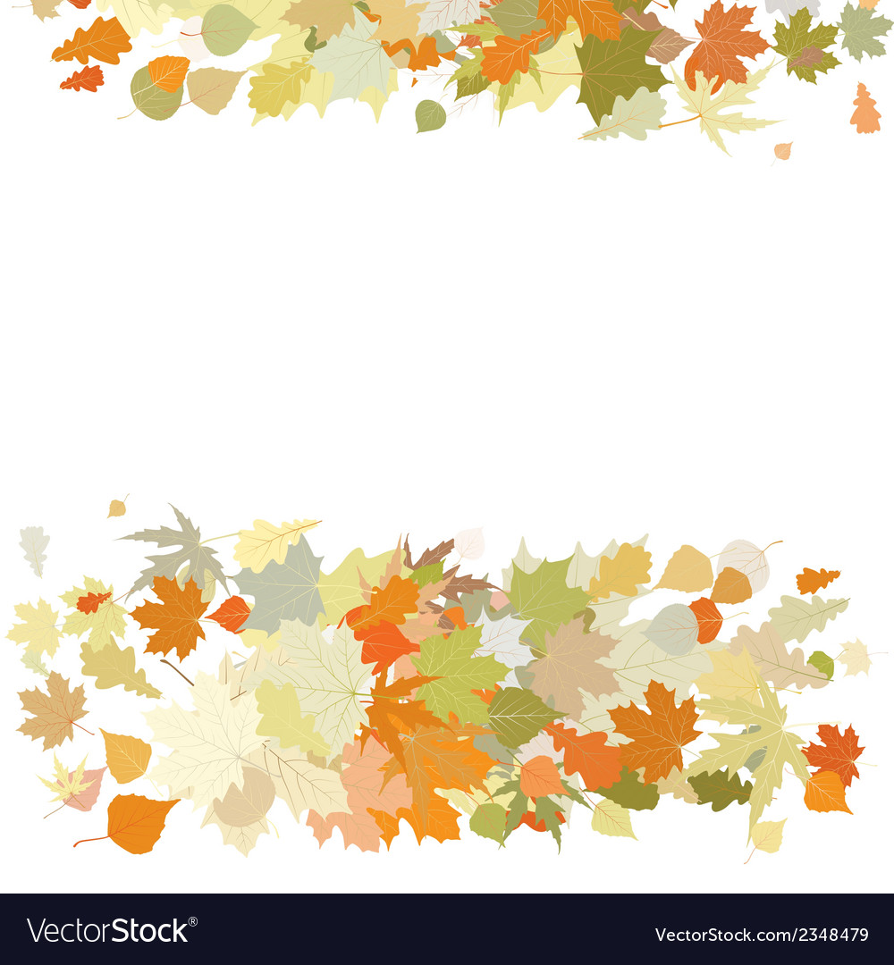 Autumn design with leafs eps 8 vector | Price: 1 Credit (USD $1)