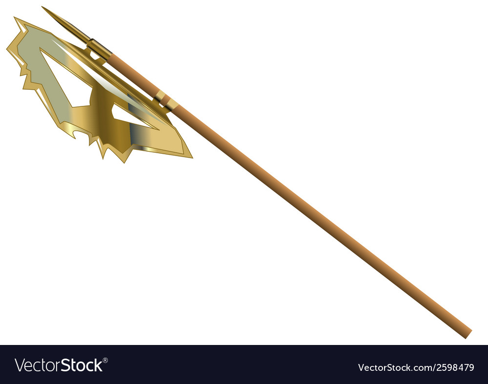 Halberd vector | Price: 1 Credit (USD $1)