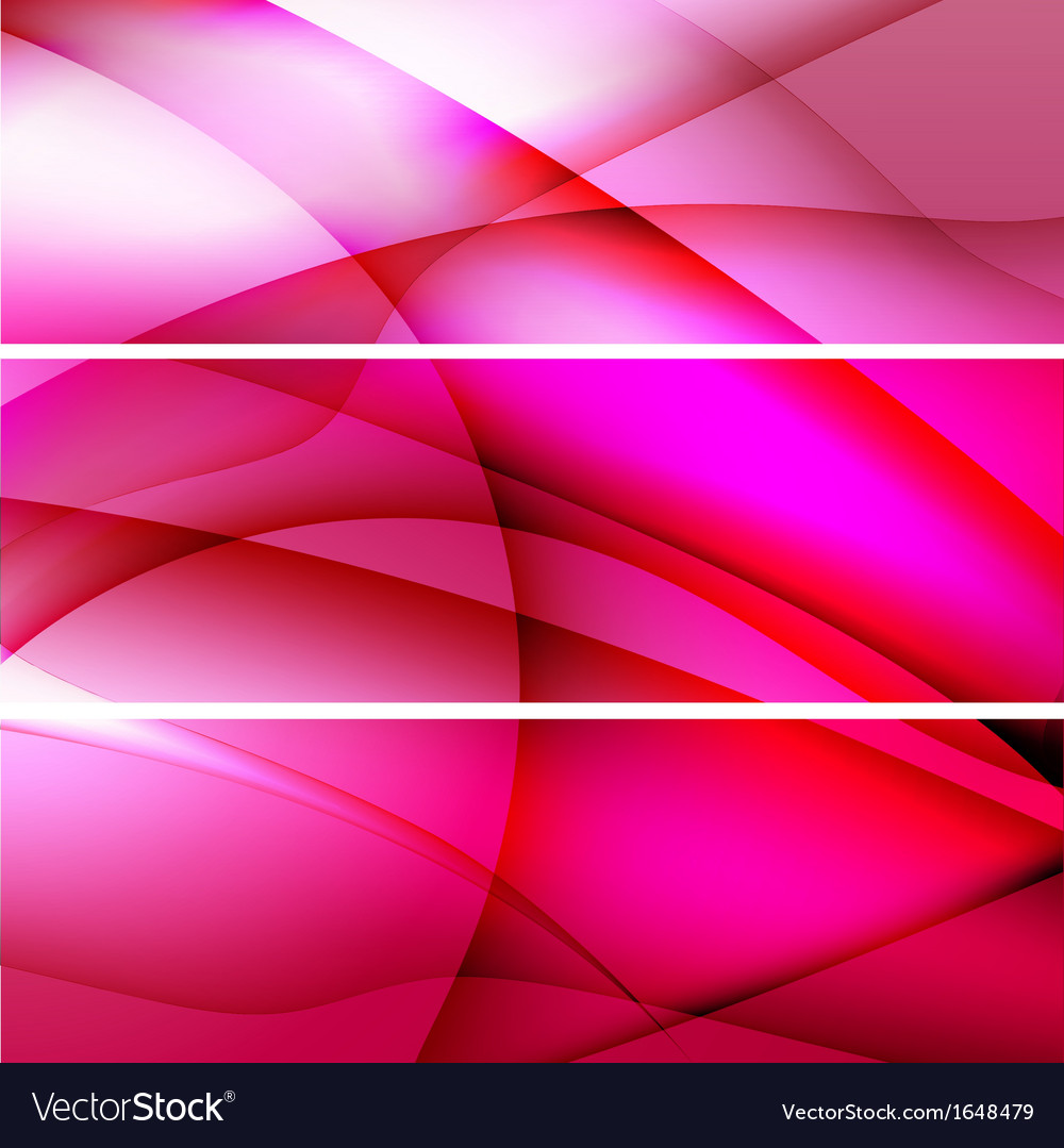 Red banners abstract background vector | Price: 1 Credit (USD $1)