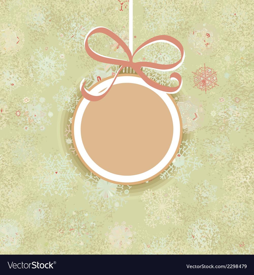 Retro christmas ornaments  eps8 vector | Price: 1 Credit (USD $1)