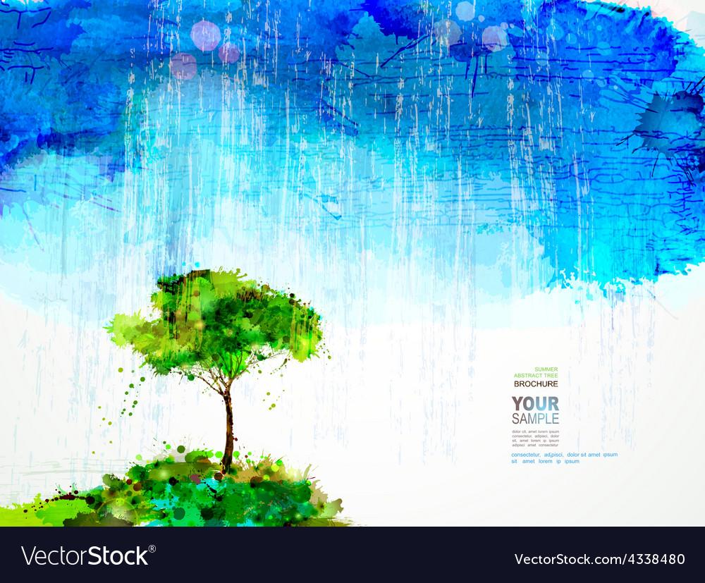 Artistic tree design vector | Price: 1 Credit (USD $1)
