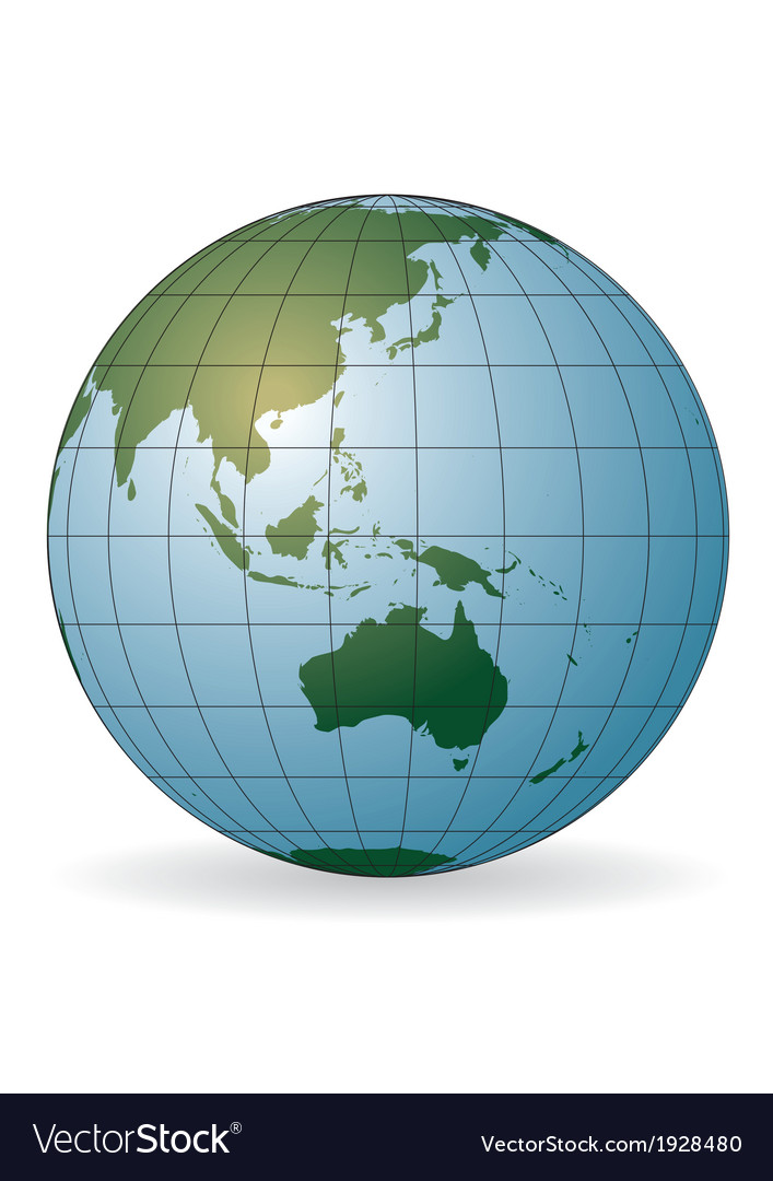 Australia vector | Price: 1 Credit (USD $1)