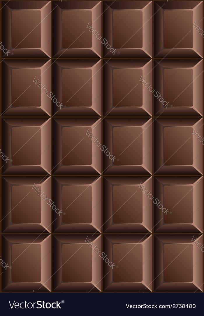 Chocolate bar seamless pattern vector | Price: 1 Credit (USD $1)