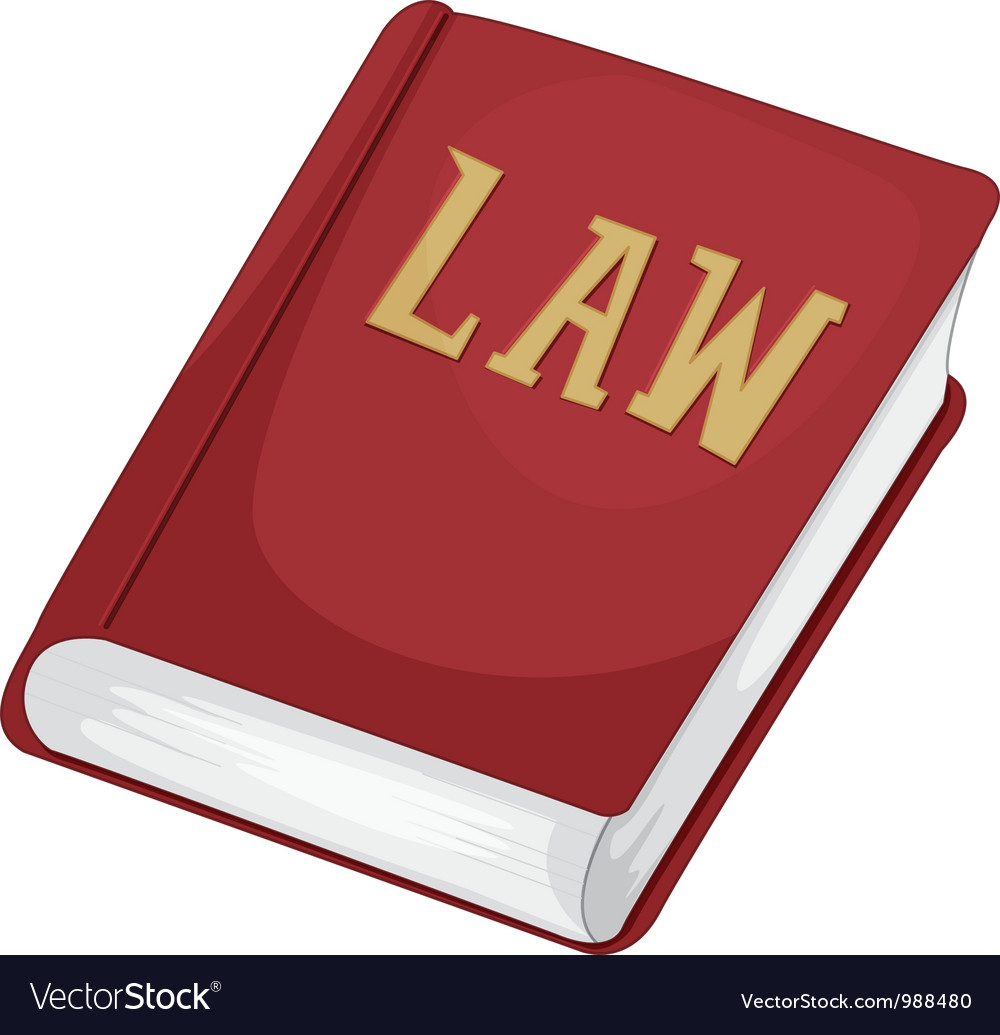 Law book vector | Price: 1 Credit (USD $1)