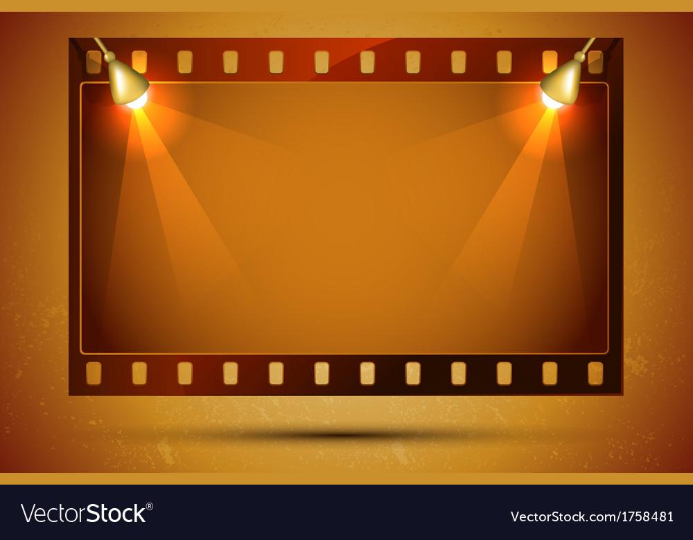 Blank film strip vector | Price: 1 Credit (USD $1)