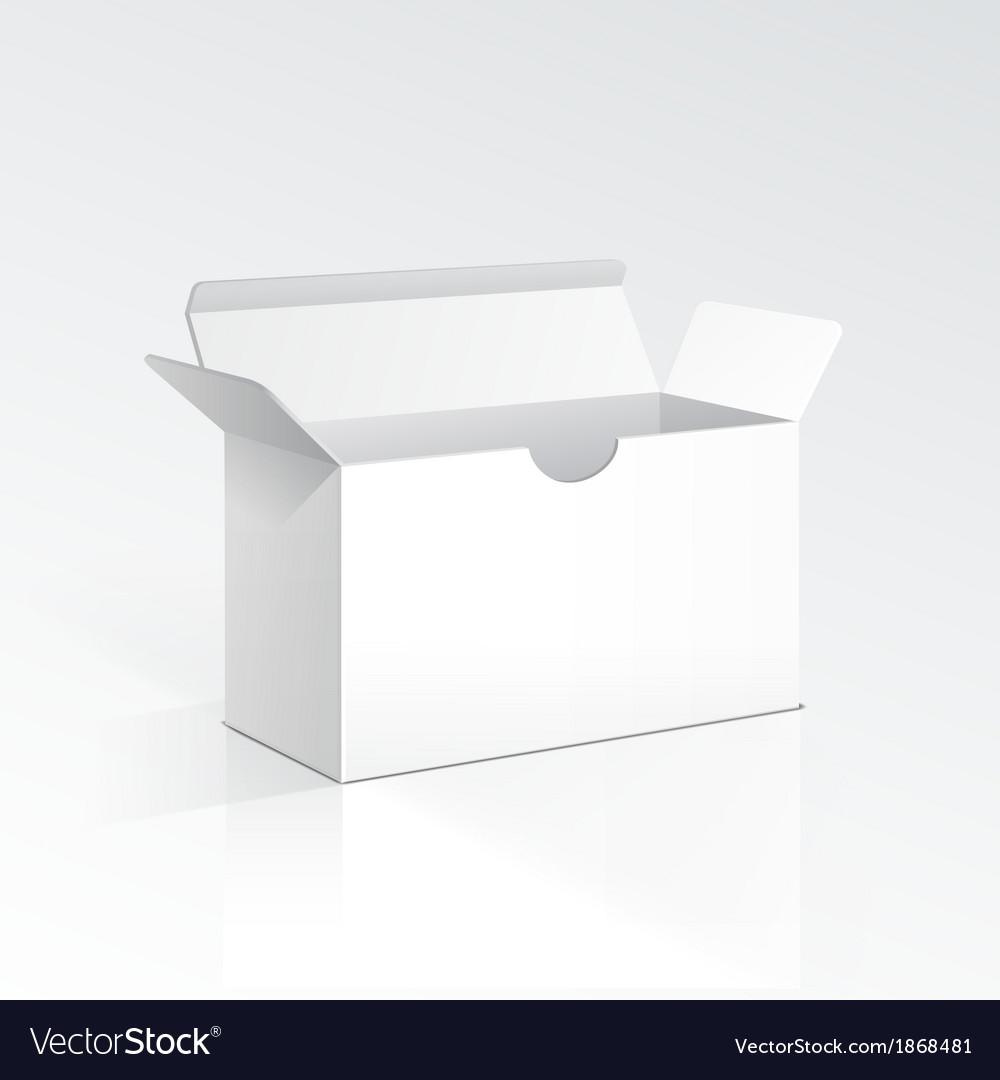 Blank open box vector   Price: 1 Credit (USD $1)