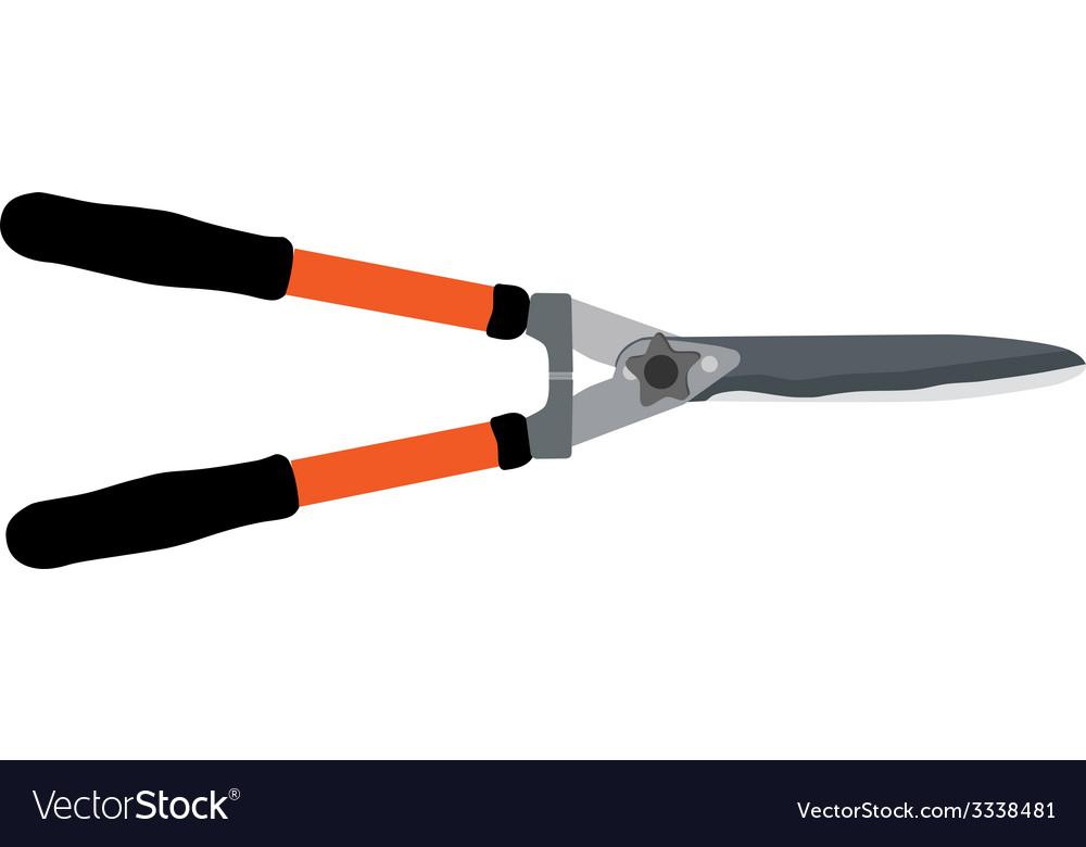 Garden shears vector | Price: 1 Credit (USD $1)