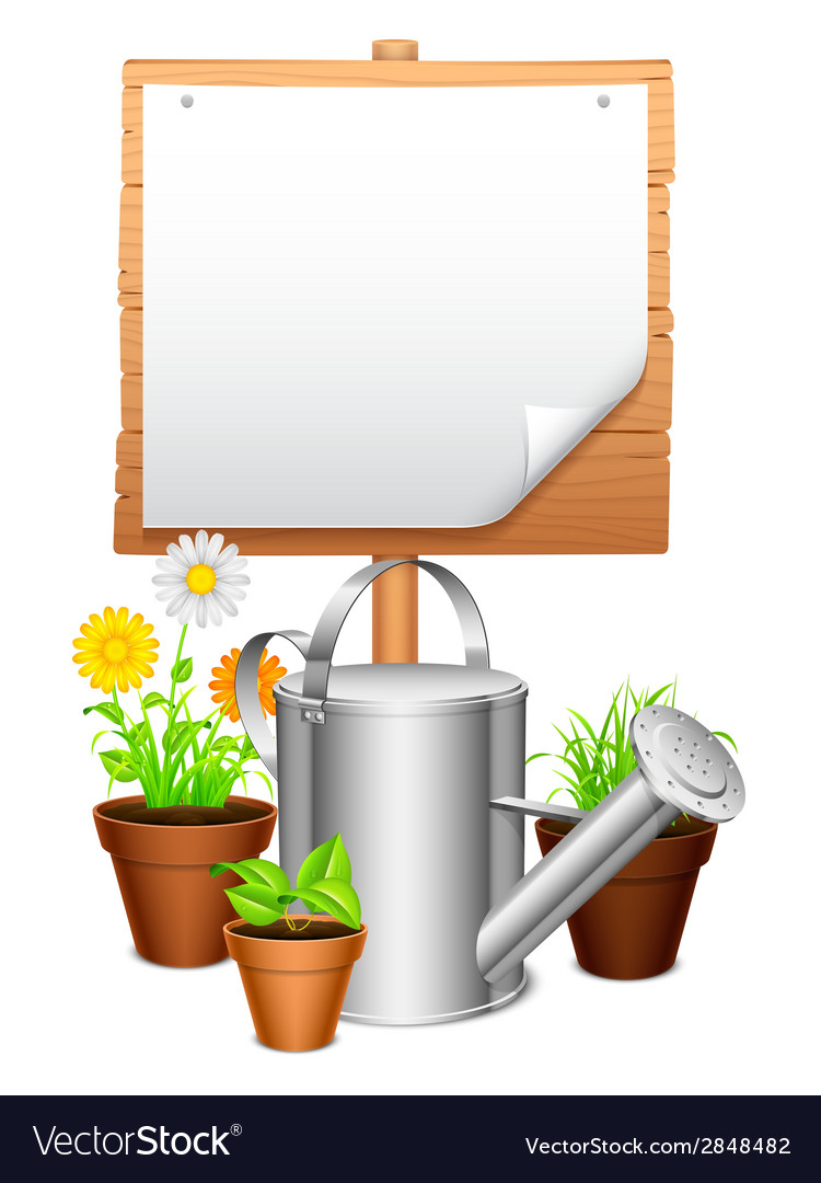Garden equipment vector | Price: 3 Credit (USD $3)