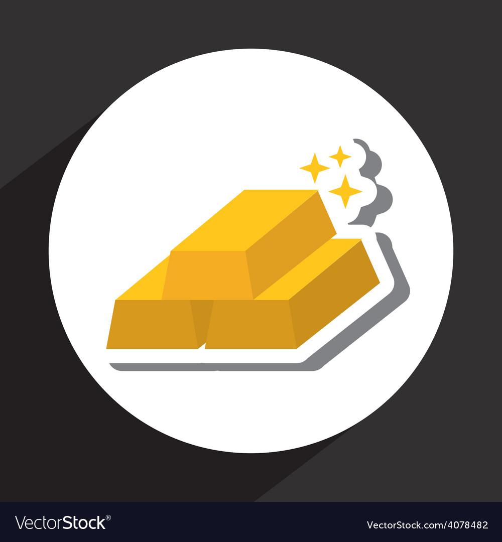 Gold bars vector | Price: 1 Credit (USD $1)