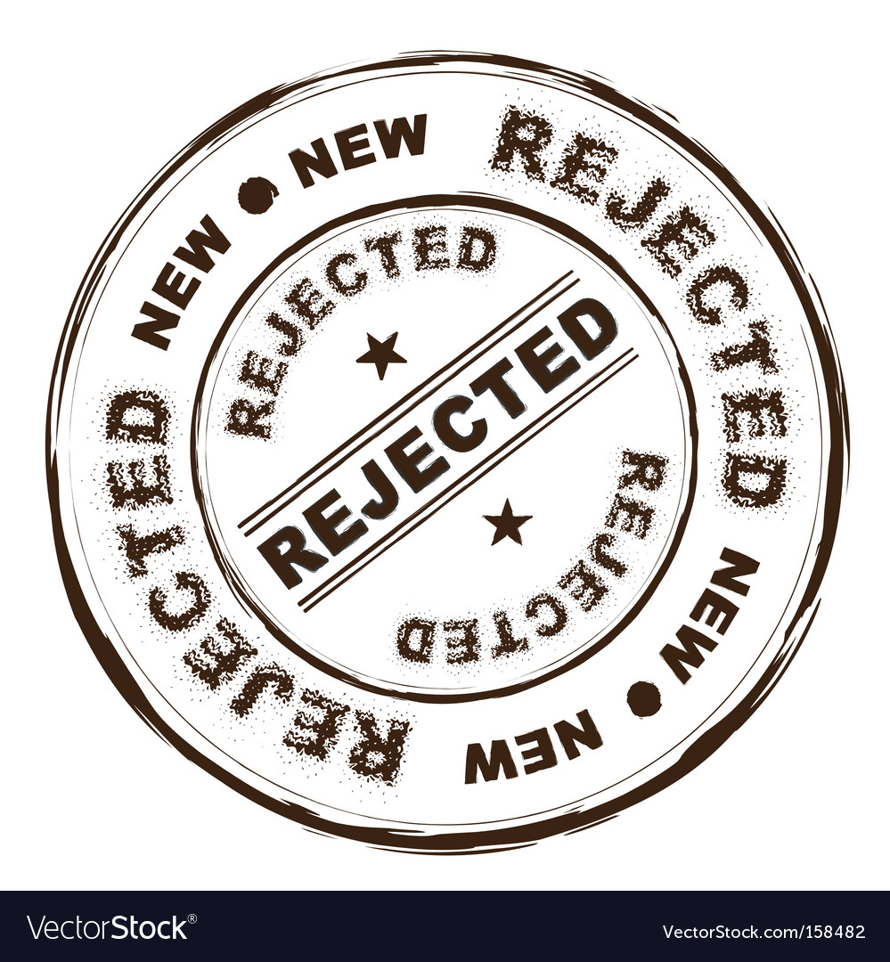 Rejected ink stamp vector | Price: 1 Credit (USD $1)