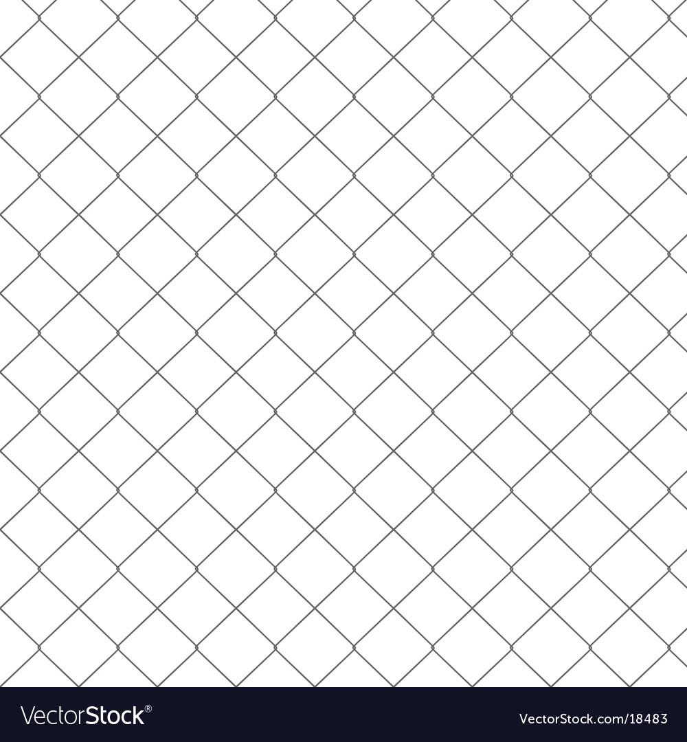 Chain link fence seamless pattern vector | Price: 1 Credit (USD $1)